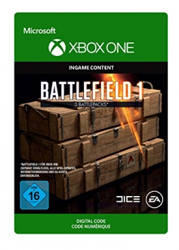 Battlefield 1: Battlepack X 3 [Xbox One - Download Code] -