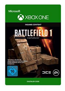Battlefield 1: Battlepack X 5 [Xbox One - Download Code] -