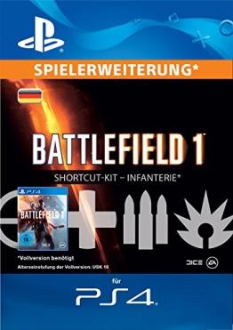 Battlefield 1 Infanterie-Bundle Edition DLC [PS4 Download Code - deutsches Konto] -