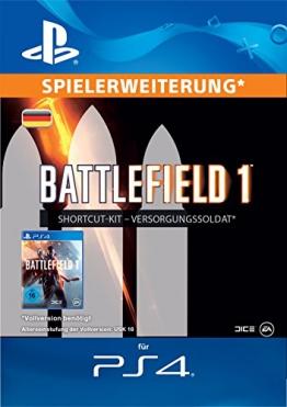 Battlefield 1 Versorgungssoldat-Bundle Edition DLC [PS4 Download Code - deutsches Konto] -