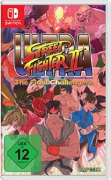 Ultra Street Fighter II: The Final Challengers - [Nintendo Switch] -