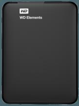 WD 1 TB. Exclusive Edition inkl. Schutzhülle Tragbares externes Speicherlaufwerk, 1 TB, Schwarz