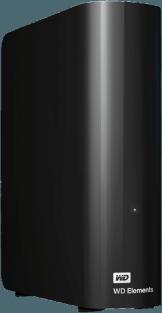 WD Elements Desktop HDD, 5 TB, Schwarz