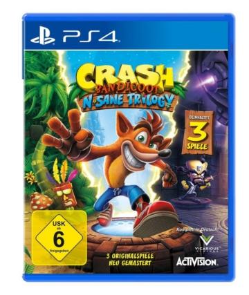 Activision Playstation 4 - Spiel »Crash Bandicoot - N.Sane Trilogy«