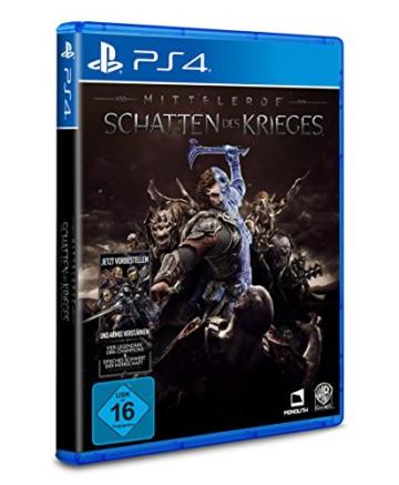Mittelerde: Schatten des Krieges -Standard Edition - [PlayStation 4] - 2