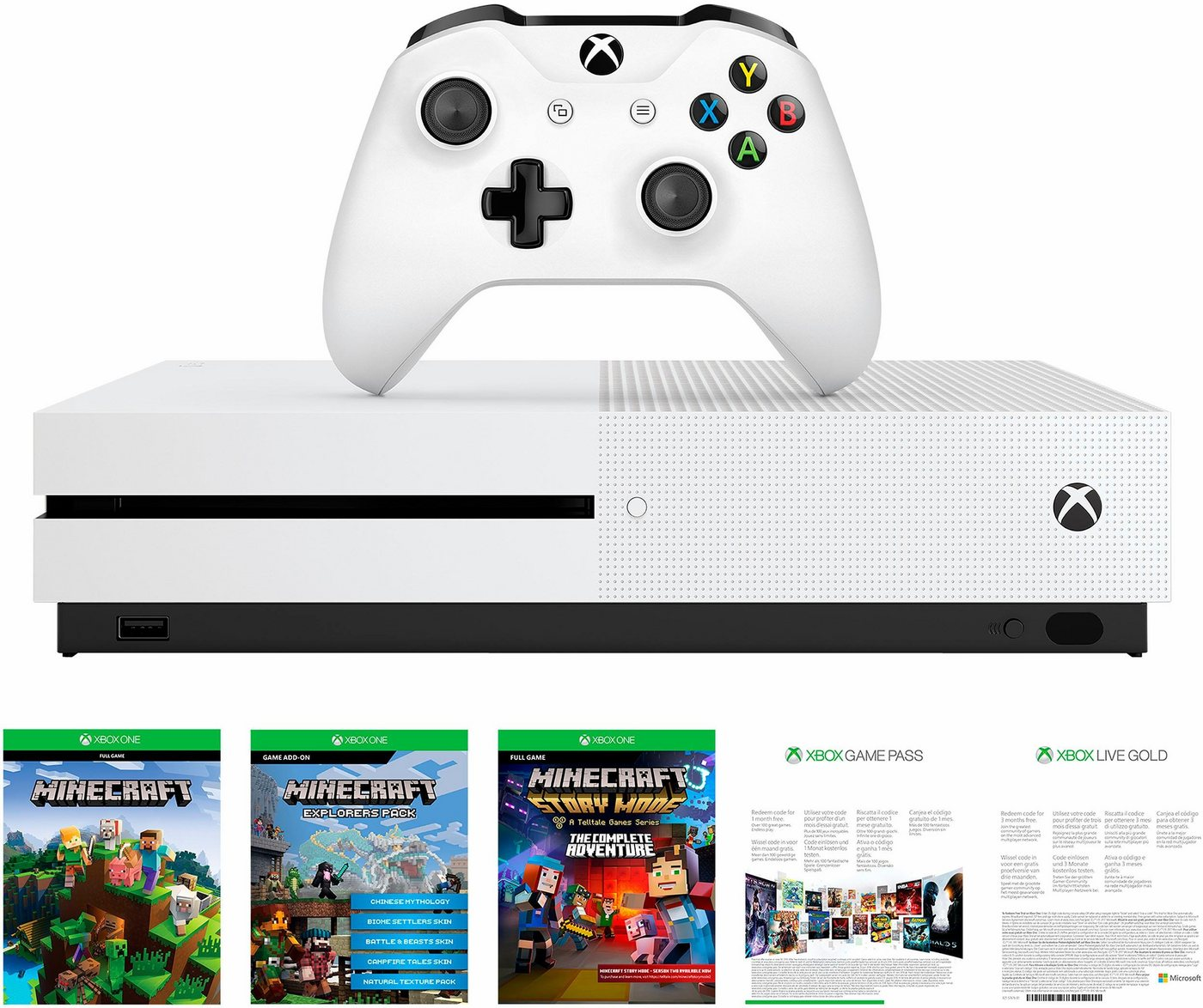 versandh ndler otto tagesangebot xbox one s 500gb bundle. Black Bedroom Furniture Sets. Home Design Ideas
