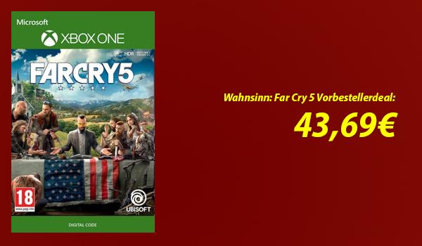 Sucht ihr Far Cry 5 günstig zum vorbestellen? Dann werdet