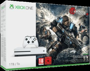 MICROSOFT Xbox One S 1TB Konsole - Gears of War 4 Bundle