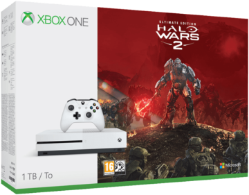 MICROSOFT Xbox One S 1TB Konsole inkl. Halo Wars 2: Ultimate Edition