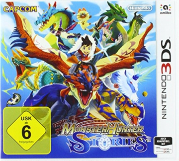 Monster Hunter Stories - [Nintendo 3DS] - 1