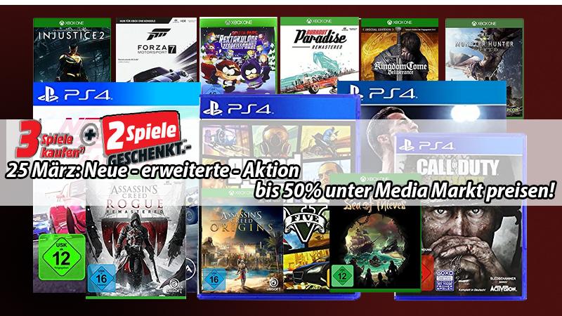 Update Aktion Deutlich Erweitert Viel Mehr Auswahl 5 Xbox One