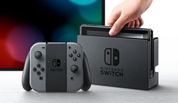 Nintendo Switch Konsole Grau - 3