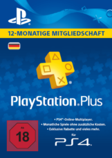 PlayStation Plus Live Card - 365 Tage
